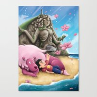 steven universe Canvas Prints featuring Steven Universe by toibi