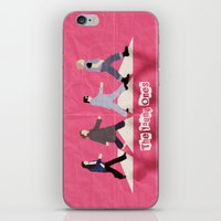 neil young iPhone & iPod Skins featuring The Young Ones by dodadue89