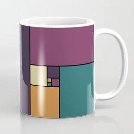 Golden Ratio Squares Coffee Mug