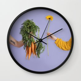 Seed swapping Wall Clock