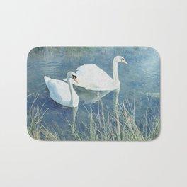 Royal Birds Bath Mat