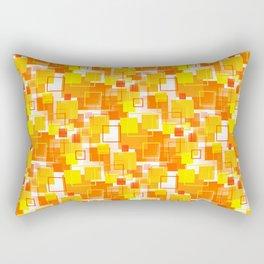 Mid-Century Modern - Orange Rectangular Pillow