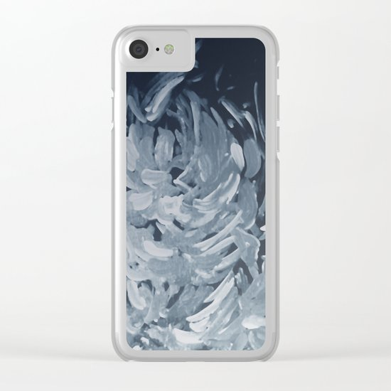 Abstract flowers 25 Clear iPhone Case