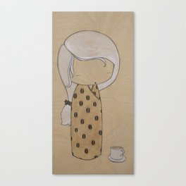 Mocha Canvas Print