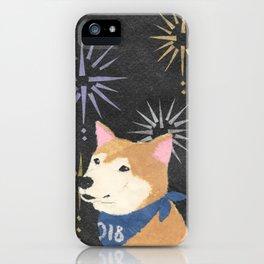 Shiba Inu, Dog, Year of the Dog iPhone Case
