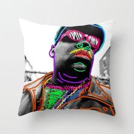 Biggie Throw Pillow