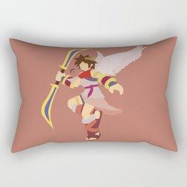 Pit(Smash)Red Rectangular Pillow