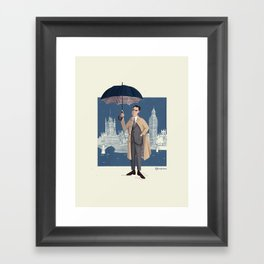 mr. Grant Framed Art Print