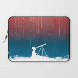 Meteor Rain (light version) Laptop Sleeve