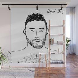Beard Boy: Andres Wall Mural