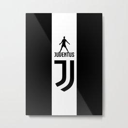 Christiano Ronaldo Juventus Metal Print