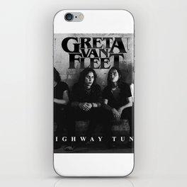GRETA VAN FLEET TOUR WORLD 2018 {2} iPhone Skin