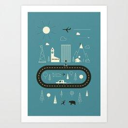 City ... Art Print
