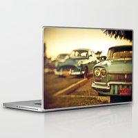 cuba Laptop & iPad Skins featuring Cuba cars by gabyjalbert