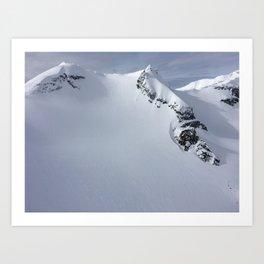 Heli View Art Print