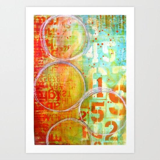 Tequilla Sunrise Art Print