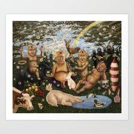"""Children of the sun"" Art Print"
