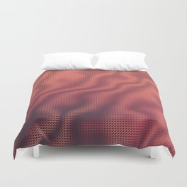 Cup of Joe and the Volcano Duvet Cover