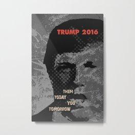 Trump Vision 2016 Metal Print