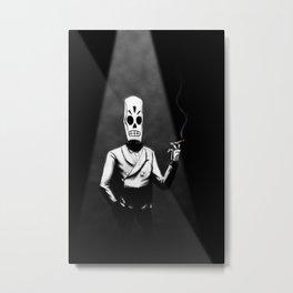 Manny Calavera Metal Print