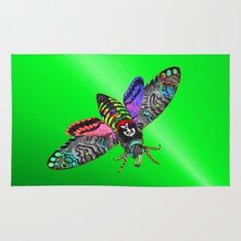 Goth Moth Rug