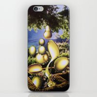oil iPhone & iPod Skins featuring Oil by John Turck