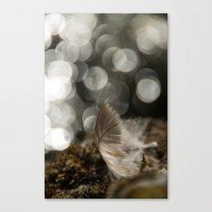 Feather Light Canvas Print