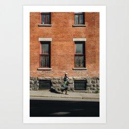 MONTREAL 2 Art Print