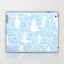 Elegant Christmas Trees Holiday Pattern Laptop & iPad Skin