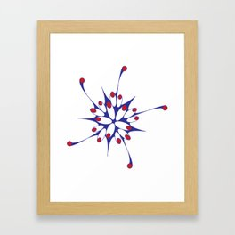 Bloom Boom Framed Art Print