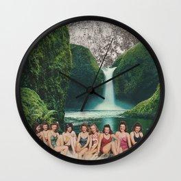 Upper Falls Wall Clock