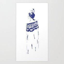 He Kakano Ahau - Kahurangi Art Print