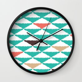 Aztec Summer Wall Clock