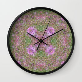 FIREWEED GOING TO LATE SUMMER SEED Wall Clock