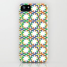 The Pattern iPhone Case