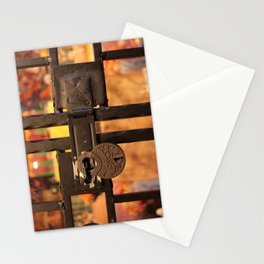 All Locked Up Stationery Cards