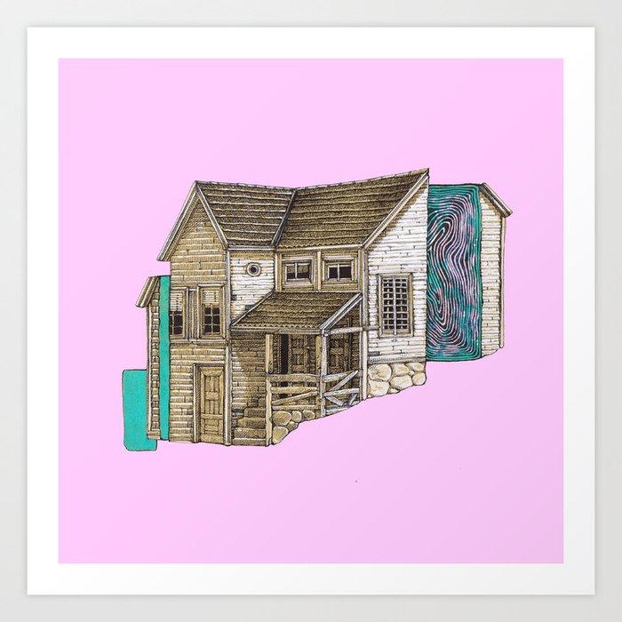 house2 Art Print