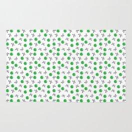 Jackstones Green and Grey Rug