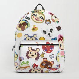animal crossing cute villagers Backpack