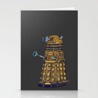 dalek Stationery Cards featuring Dalek  by Fernando Licon