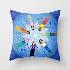 Plea for Peace Throw Pillow