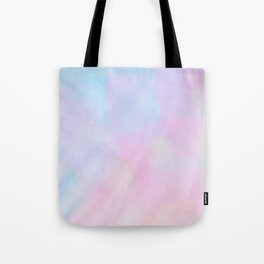 Abstract Pastel Design Tote Bag
