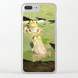 Happy Friends Clear iPhone Case