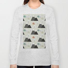 Winter Mountain Long Sleeve T-shirt