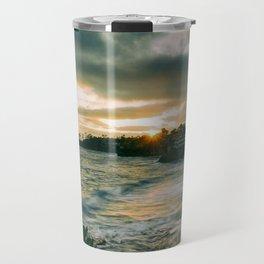 Cloudy Sunset Travel Mug