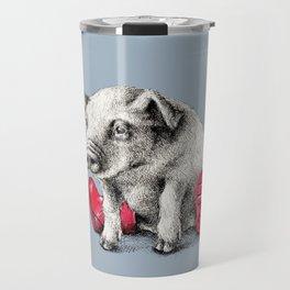 Piggy in Welly Travel Mug