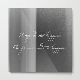 Made to Happen Metal Print