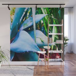 """""""AGAVE AND THE ANOLE"""" Wall Mural"""