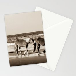 Horses of OBX Stationery Cards