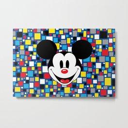 Mickey Fun House Metal Print